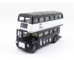 ONIBUS THE BEATLES ROUTEMASTER WAVE 2 PRETO FACTORY