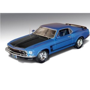 1969 Ford Mustang Boss 302 Azul 1/43 Highway 61 Hig43002