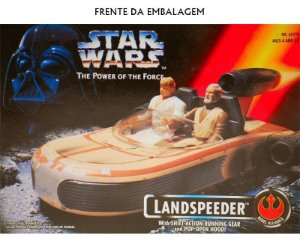 1995 STAR WARS POWER OF THE FORCE LANDSPEEDER KENNE R69770 TONKA EPISODE 1