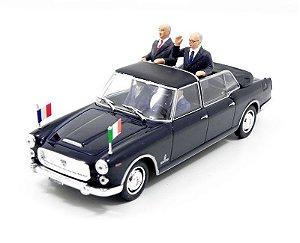 Lancia Flaminia Presidenziale De Gaulle - Saragat Montblanc 1/43 Starline 560412