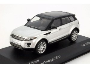 LAND ROVER RANGE ROVER EVOQUE YEAR 2011 SILVER / BLACK 1/43 WHITEBOX WB059