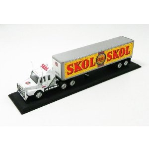SKOL LAGER SCANIA TRACTOR TRAILER 1/100 MATCHBOX CCY07-M