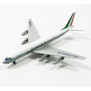 AVIÃO DC-8-43 ALITALIA I-DIWA 1/400 GEMINI JETS GJAZA157