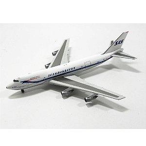 AVIÃO BOEING 747-200 SAS N4501Q 1/400 GEMINI JETS GJSAS179