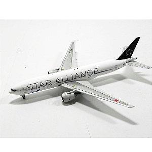 AVIÃO BOEING 777-200 ANA STAR ALLIANCE JA711A 1/400 PHOENIX MODELS 10419