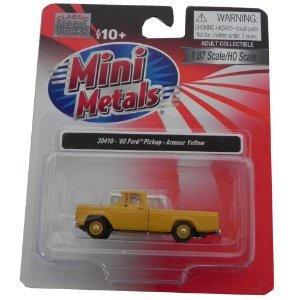 1960 Ford Pickup 1/87 Classic Metal Works 30410
