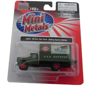 1960 FORD BOX TRUCK RAILWAY EXPRESS AGENGY 1/87 CLASSIC METAL WORKS 30415