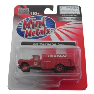 1960 Ford Tank Truck Texaco 1/87 Classic Metal Works 30418