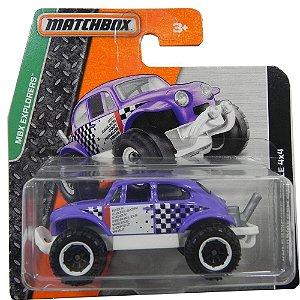 Fusca Volkswagen Beetle 4X4 1/64 Matchbox Matchdfl67-0511