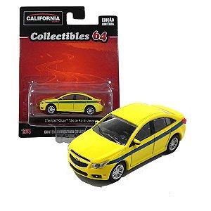 Chevrolet Cruze Taxi Do Rio De Janeiro 1/64 Greenlight California Collectibles 18018-2