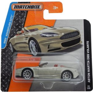 ASTON MARTIN DBS VOLANTE MBX ADVENTURE CITY 1/64 MATCHBOX DFK16-0511