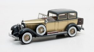 1929 MERCEDES-BENZ 630K COUPÉ-CHAUFFEUR CHASSIS 36278 BY CASTAGNA MILANO 1/43 MATRIX MX41302-041