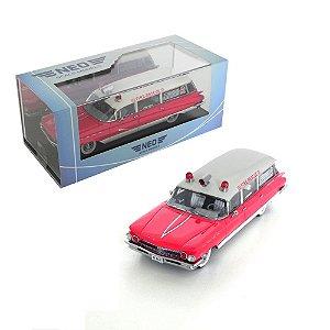 1960 BUICK FLXIBLE PREMIER AMBULANCE 1/43 NEO NEO44687