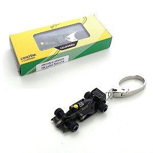 Chaveiro Ayrton Senna Lotus Califórnia Toys 1/87 Premium Pct002