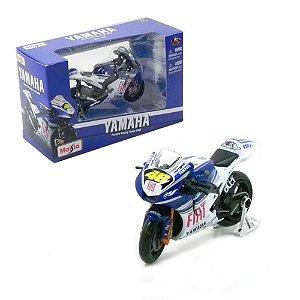 MOTO YAMAHA FACTORY RACING TEM 2008 46 1/18 MAISTO 31566