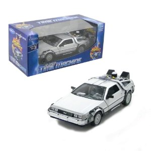DELOREAN TIME MACHINE DE VOLTA PARA O FUTURO II 1/24 WELLY DMC2418