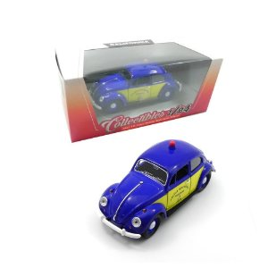1967 VOLKSWAGEN BEETLE FUSCA POLICIA RODOVIARIA DO BRASIL 1/24 CALIFORNIA COLLECTIBLES
