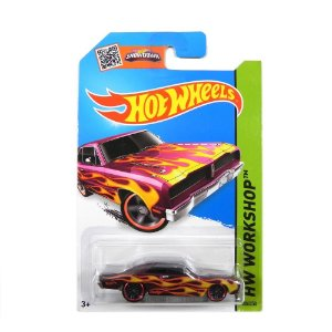 1974 BRAZILIAN DODGE CHARGER 1/64 HOT WHEELS HW WORKSHOP CFH37-07B3