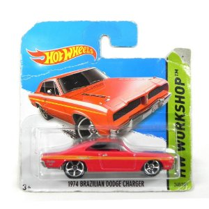 1974 Brazilian Dodge Charger 1/64 Hot Wheels Hw Workshop Bfg72-05B5