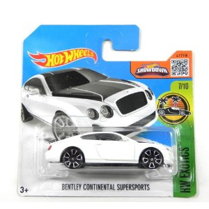 BENTLEY CONTINENTAL SUPERSPORTS 1/64 HOT WHEELS HW EXOTICS DHR23-D5B5