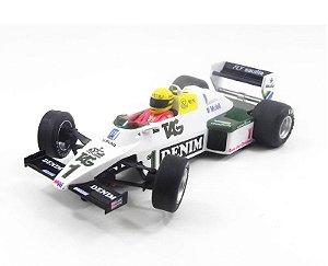 1983 Williams Fw08 Ayrton Senna 1/32 Fly 40101