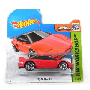 1990 HONDA ACURA NSX 1/64 HOT WHEELS HW WORKSHOP