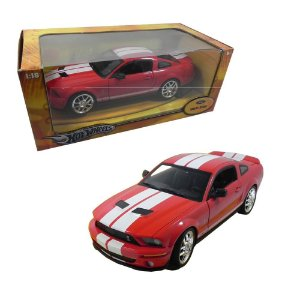 FORD SHELBY GT500 1/18 HOT WHEELS
