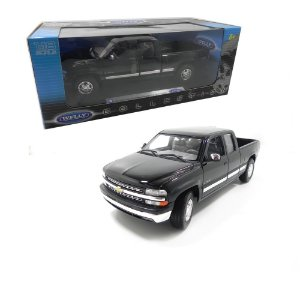 1999 CHEVROLET SILVERADO EXTENDED CAB FLEETSIDE BOX 1/18 WELLY 19844W