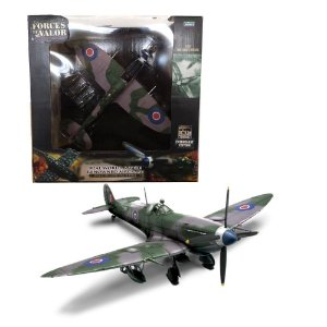AVIÃO U.K. SPITFIRE MK IX FAR N° 132 WING NETHERLANDS 1945 1/32 UNIMAX FORCES OF VALOR 80224