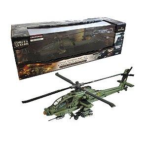 HELICÓPTERO U.S. AH-64A APACHE KUWAIT 1991 1/48 UNIMAX FORCES OF VALOR 80008