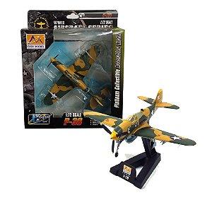 AVIÃO BELL P-39Q AIRACOBRA USAAF 35th FG 41st FS 1/72 EASY MODEL 36324
