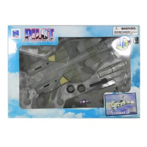 KIT PARA MONTAR AVIÃO F-14 TOMCAT COMBAT 14 1/72 NEW RAY PILOT MODEL KIT 21315 A2