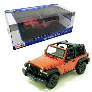 2014 JEEP WILLYS WRANGLER 1/18 MAISTO SPECIAL EDITION 31610