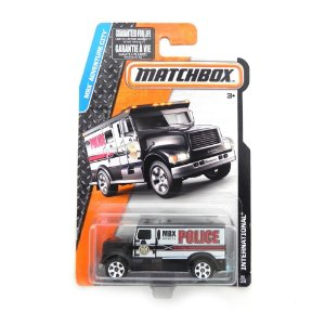 INTERNATIONAL POLICIA MBX ADVENTURE CITY 1/64 MATCHBOX CFV95-0810