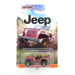 1943 JEEP WILLYS 1/64 MATCHBOX DJG63-0910