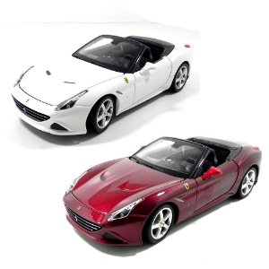FERRARI CALIFORNIA T OPEN TOP 1/24 BBURAGO 26011