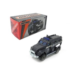 2011 S.W.A.T. TRUCK 1/64 MATCHBOX MBX HEROIC RESCUE DNK85
