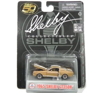 1965 SHELBY GT350R COM FAIXAS 1/64 SHELBY COLLECTIBLES