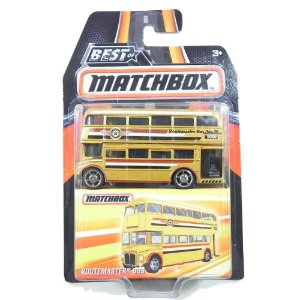 ÔNIBUS ROUTEMASTER 1/64 BEST OF MATCHBOX DKC92-2B10