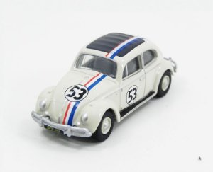 Volkswagen Beetle (Fusca) Herbie The Love Bug Se Meu Fusca Falasse 1/76 Oxford 76Vwb001
