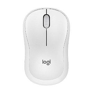 Mouse Logitech M220 Silent Branco 1000dpi sem fio
