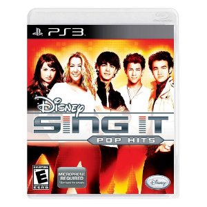 Jogo Disney Sing It: Pop Hits - PS3