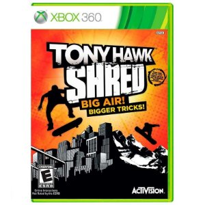 Jogo Tony Hawk Shred Big Air! Bigger Tricks! - Xbox 360
