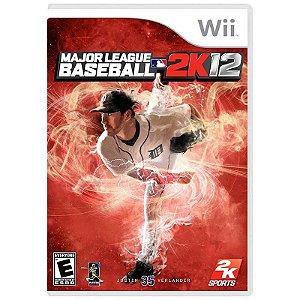 Jogo Major League Baseball 2K12 - Wii