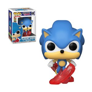Boneco Classic Sonic 632 Sonic The Hedgehog - Funko Pop!