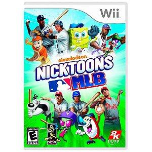 Jogo Nickelodeon Nicktoons MLB - Wii
