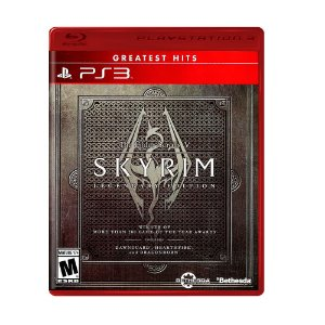 Jogo The Elder Scrolls V: Skyrim (Legendary Edition) - PS3