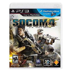 Jogo SOCOM 4: U.S Navy SEALs - PS3