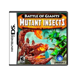 Jogo Battle of Giants: Mutant Insects - DS