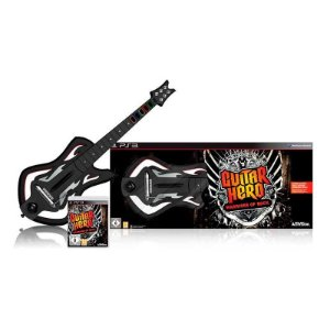 Kit Guitar Hero: Warriors of Rock (Guitar Bundle) - PS3
